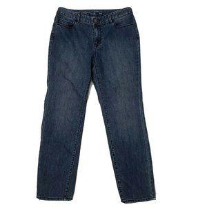 COLDWATER CREEK Natural Fit Slim Leg Jeans Size 8P
